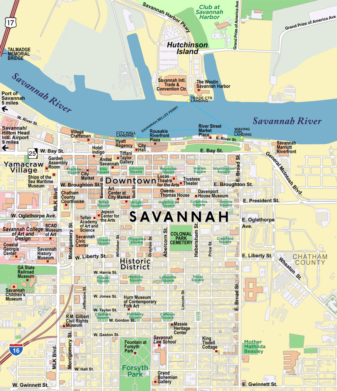 Savannah, Georgia | Red Paw Technologies on map to phoenix arizona, map to south carolina, map to tucson arizona, map to topeka kansas, map to san diego california, map to butte montana, map to birmingham alabama, map to north carolina, map to florida, map to springfield missouri,